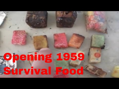 Opening 1959 Survival Food