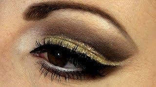 Holiday Gold Makeup Tutorial- Glamorous Thumbnail
