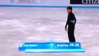 2011 Junior World Keiji TANAKA (解説入りVer.)