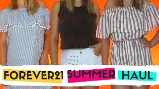האול קניות לקיץ מפוראבר21 | Summer haul + TryOn from FOREVER21