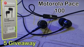 Motorola Pace 100 Unboxing & Review| 5 Giveaway