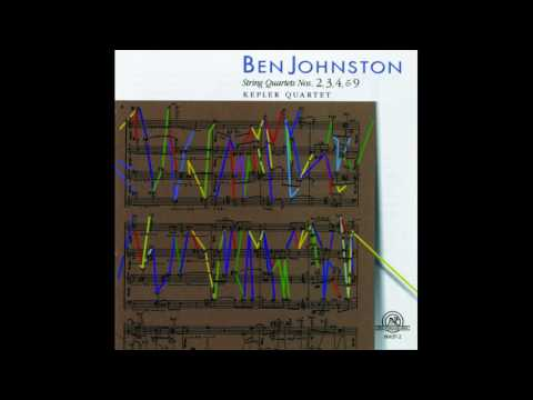 Ben Johnston / String Quartet No.4