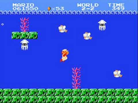 Super Mario Bros  Music - Underwater