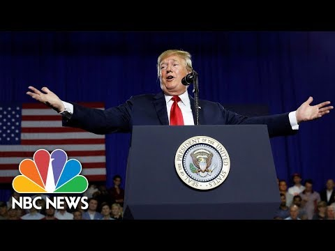 President Donald Trump Holds Rally In North Dakota | NBC News