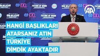 Cumhurbaşkanı Erdoğan Memur-Sen programında konuştu