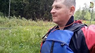 Первопроход по реке Уча  в Московской области/ Река, Паводок и три Байдарки