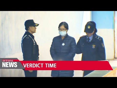 Choi Soon-sil faces verdict in sentencing trial