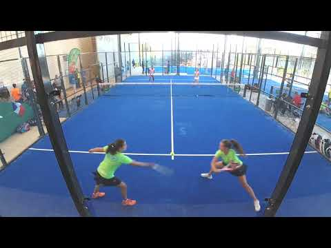 Match 1 Dames - France vs Espagne Championnats D'Europe de Padel 2017 / Tennis Club Estoril