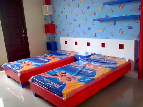 Kids Bedroom Makeover   Colorful Room Decor8 U0027Nu0027 Design