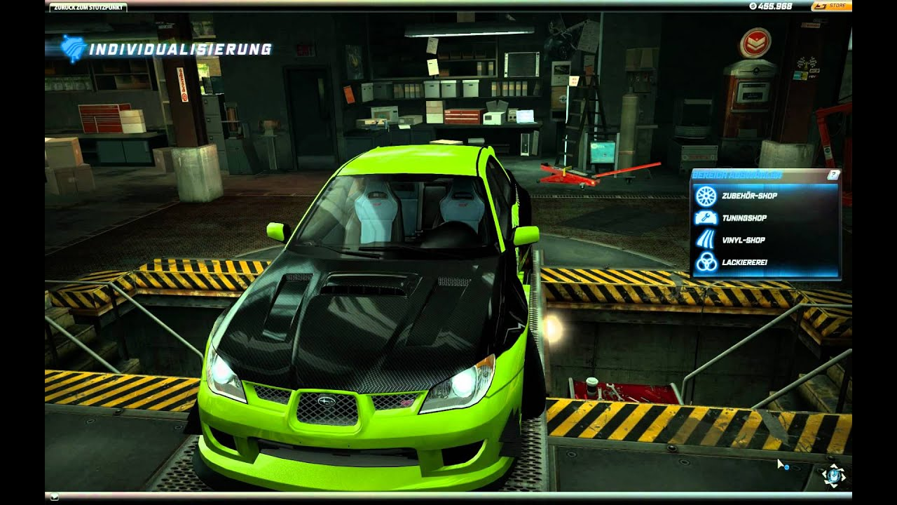 Need For Speed World Subaru Impreza Wrx Sti Green Lemon