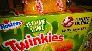 Key Lime Slime Twinkies (is Ghostbusters 2016 Racist)