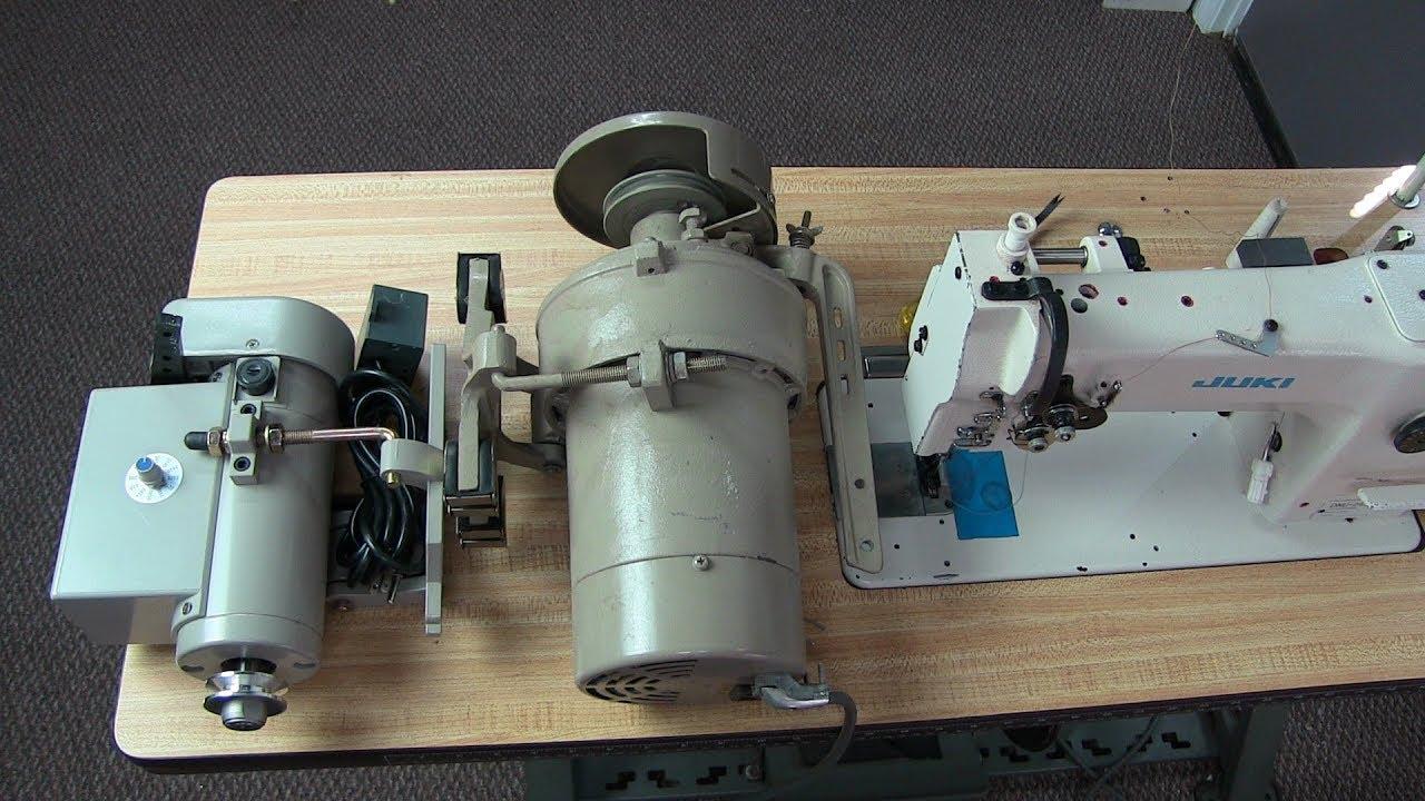 diy upholstery changing sewing machine motors [ 1280 x 720 Pixel ]
