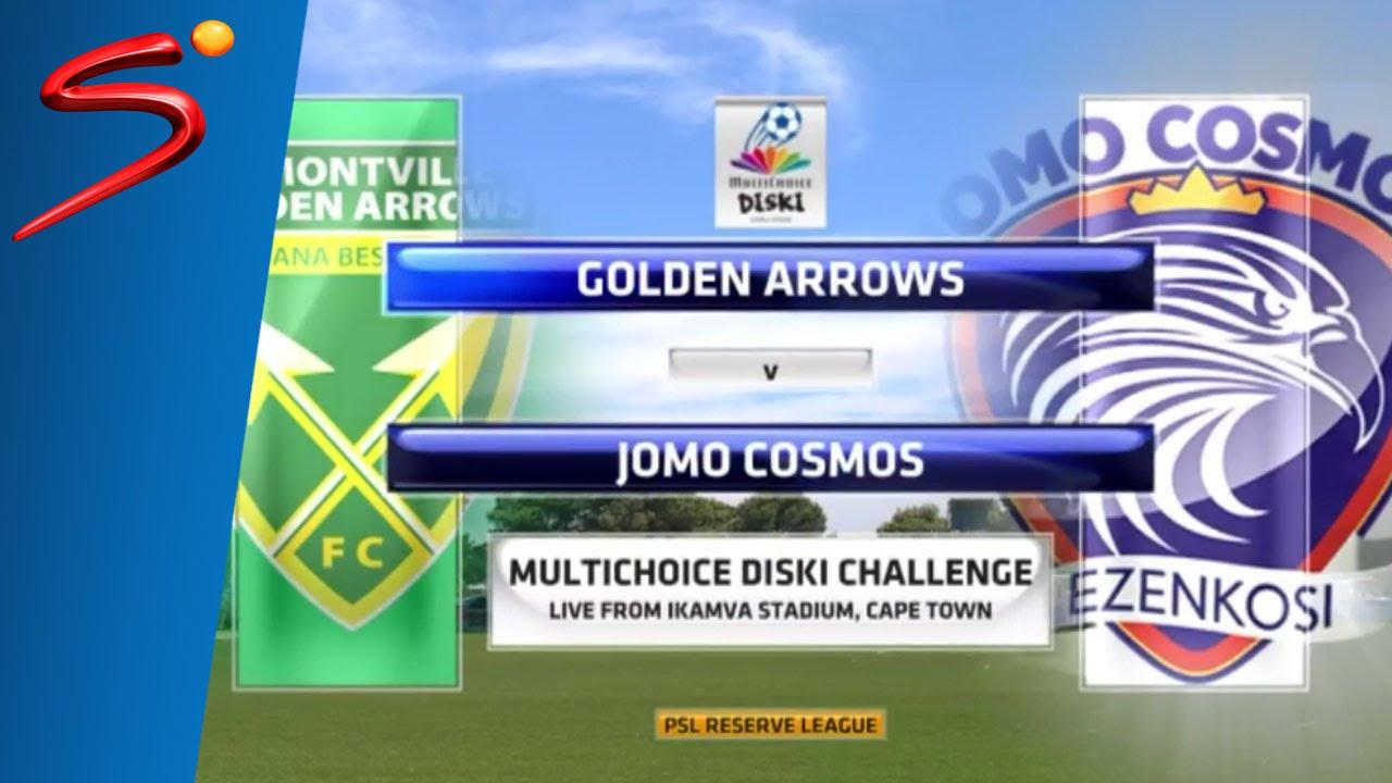 MultiChoice Diski Challenge 2015/16 Round 10: Golden Arrows 0-0 Jomo Cosmos