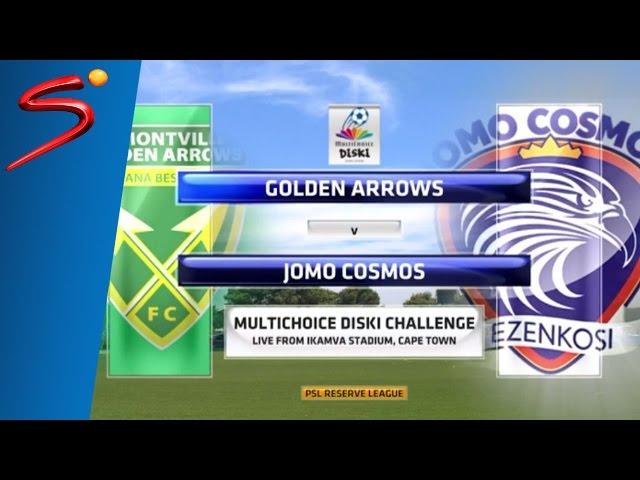 MultiChoice Diski Challenge 2015/16 Rd 10: Golden Arrows 0-0 Jomo Cosmos