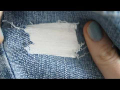 DIY Ripped Jeans YouTube