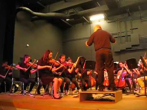 Peterson and Cabrillo middle school orchestra spring concert