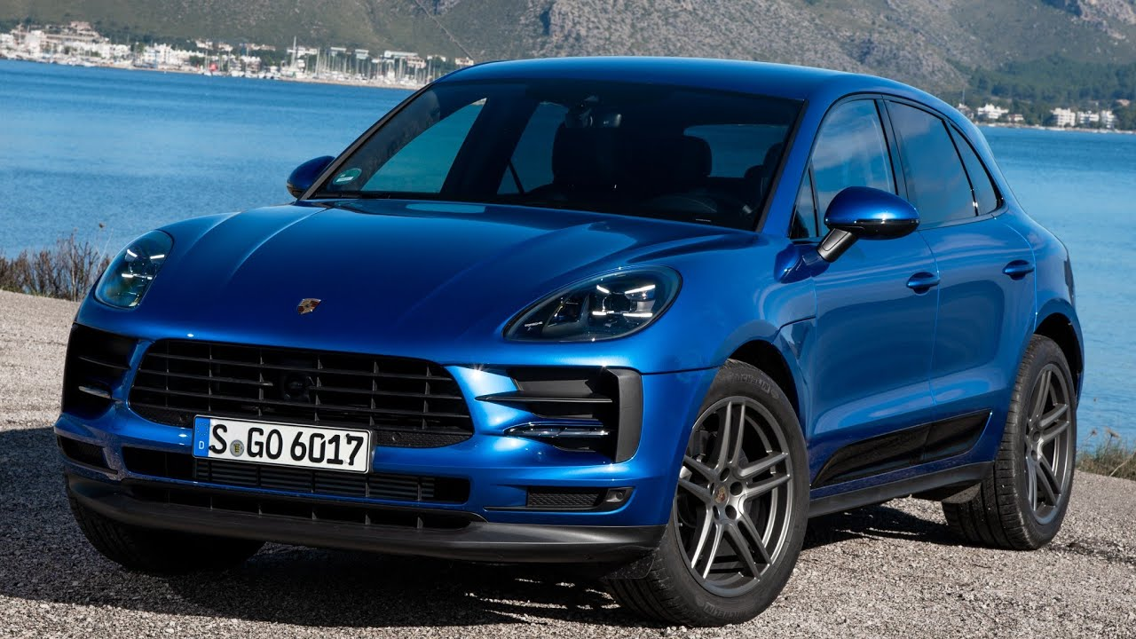 2019 Porsche Macan Sapphire Blue Metallic Youtube