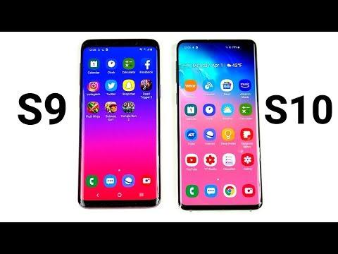 Galaxy S9 vs Galaxy S10!