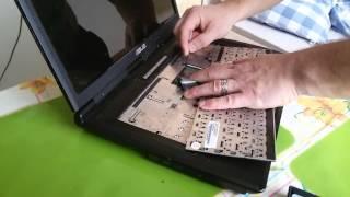 Výmena klávesnice na notebooku ASUS