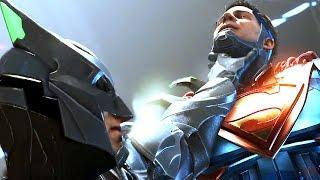 Injustice 2 The 'Full Movie'   All Cutscenes - Justice League 【TRUE HD】