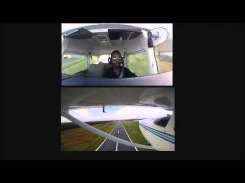 Flying Cessna 172 out of (KEQY) Charlotte Monroe Executive Airport