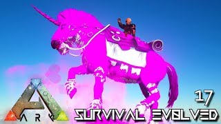 ARK: SURVIVAL EVOLVED - KO KING MALIN UNICORN !!! | PRIMAL FEAR ISO CRYSTAL ISLES E17