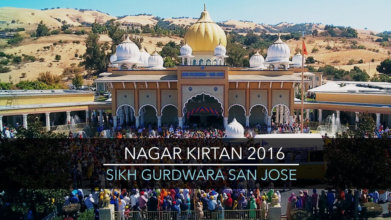 San Jose Nagar Kirtan 2016 - Highlights