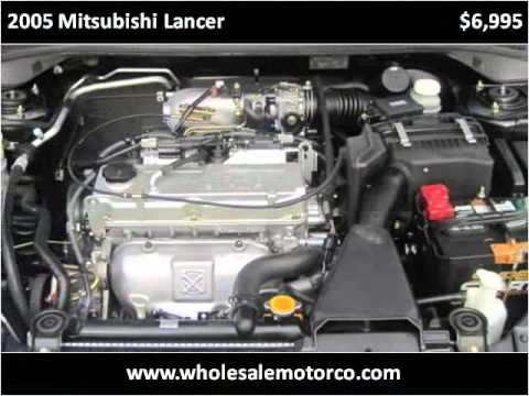 2005 Mitsubishi Lancer available from Wholesale Motor Co Inc