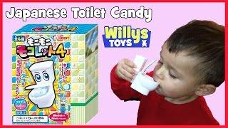 Japanese Toilet Drink Candy DIY Kit by Moko Moko - MUST SEE - Funny Cute Kid - WILLYS TOYS JAPAN