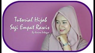 Tutorial Hijab Segi Empat Saudia Untuk Lebaran