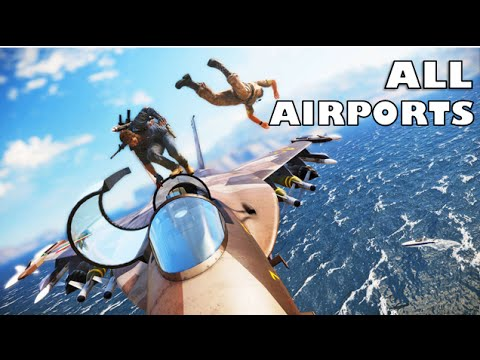 Just Cause 3: Airport Locations (ALL)