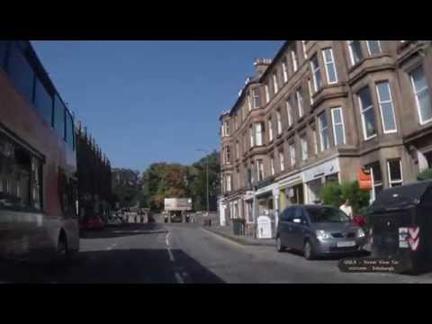 183 SCOTLAND - Edinburgh - Broughton St. - Bellevue - Rodney St. - Inverleith Row - Street View