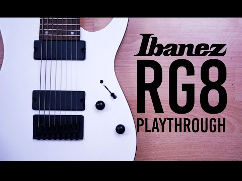 Ibanez RG8 - Djent/Metal Playthrough