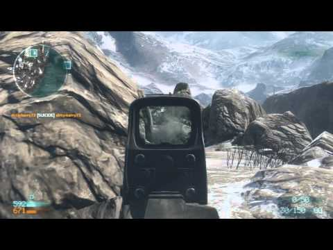 Medal of Honor 2010: DLC Hot Zone on Hindu Kush Pass (Gameplay/Commentary)