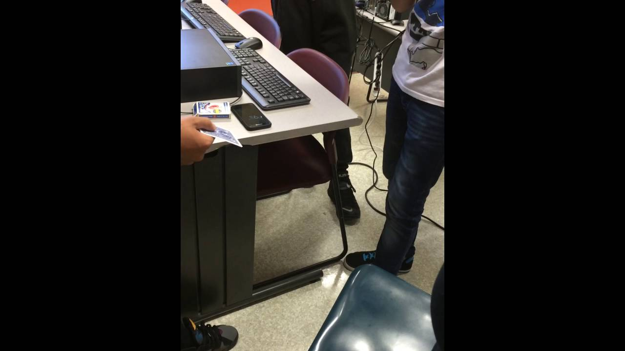 Cool Card Trick in the Computer Lab