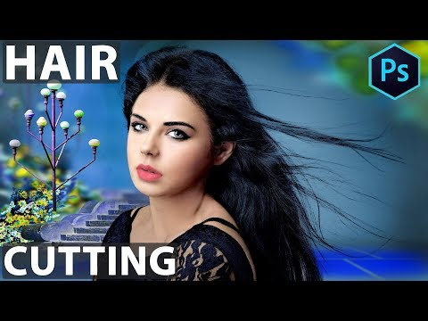 How To Hair Cutting In Photoshop CS3 In Hindi ART Balaghat