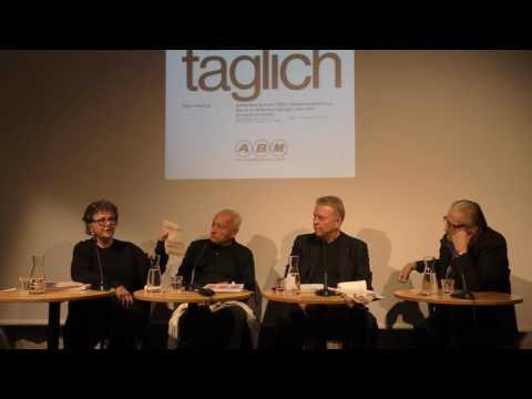ABM Werbung. Oral History mit Eugen Gomringer, Ernst & Ursula Hiestand.