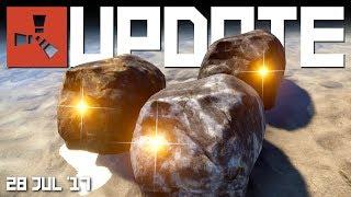 New ore node mini game, scientists update | RUST update news 28th July 2017