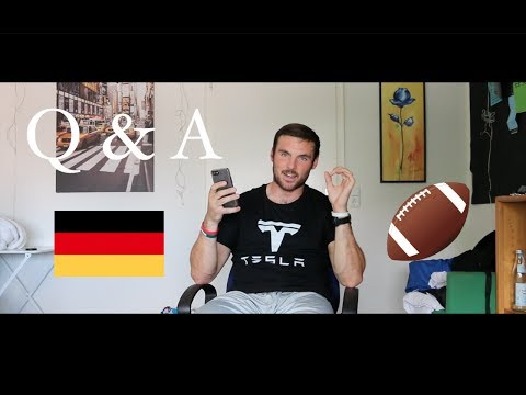 Q & A With An American Football Player In Germany