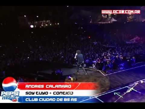 Andrés Calamaro - Soy tuyo + Contigo    Pepsi Music 08 mp3
