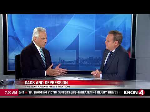 Postpartum Depression in Dads -- San Francisco KRON News Asks Dr. Will Courtenay About It