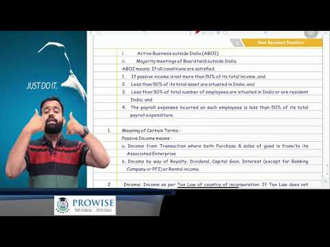 Revision Lecture CA Final DT MAYNOV 2020 Part -9