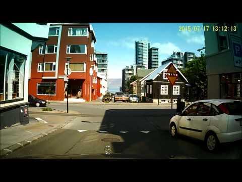 Downtown Reykjavik Summer 2015