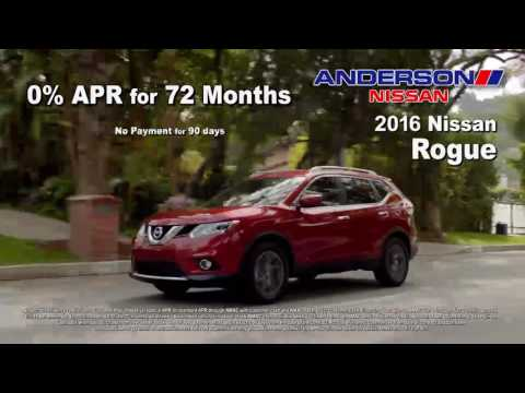 Anderson Nissan Oct 2016 Year of the Truck End of October