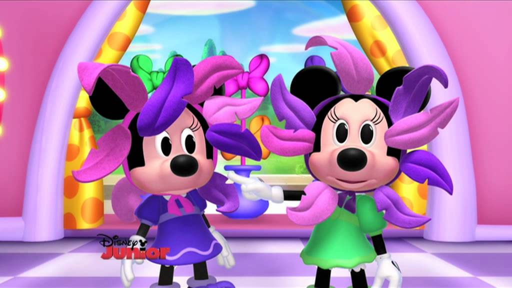 How To Fix Falling Wallpaper Minnie S Bow Toons Flower Fix Youtube