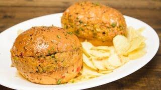 Tawa Burger Recipe | Indian Street Food / Indian Style Burger Recipes