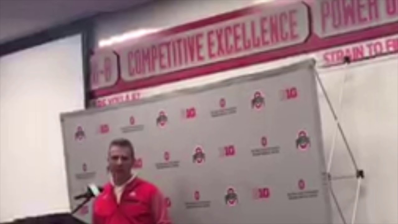 Urban Meyer Press Conference - YouTube