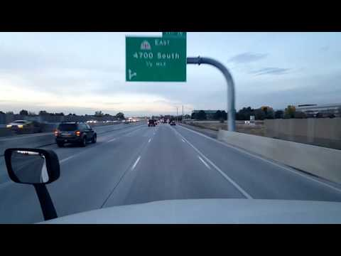 BigRigTravels LIVE! North Salt Lake to Springville, Utah-Interstate 215 & 15 South-Oct. 19, 2017