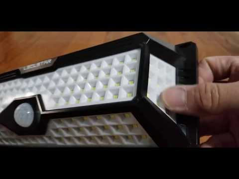 Solar Motion Sensor Light Outdoor   New Upgrade 268 LEDs Solar Lights Outdoor Review