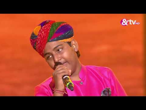 Jasu Khan - Kesariya Balam Padharo Mhare Desh - Liveshows - Episode 28 - The Voice India Kids
